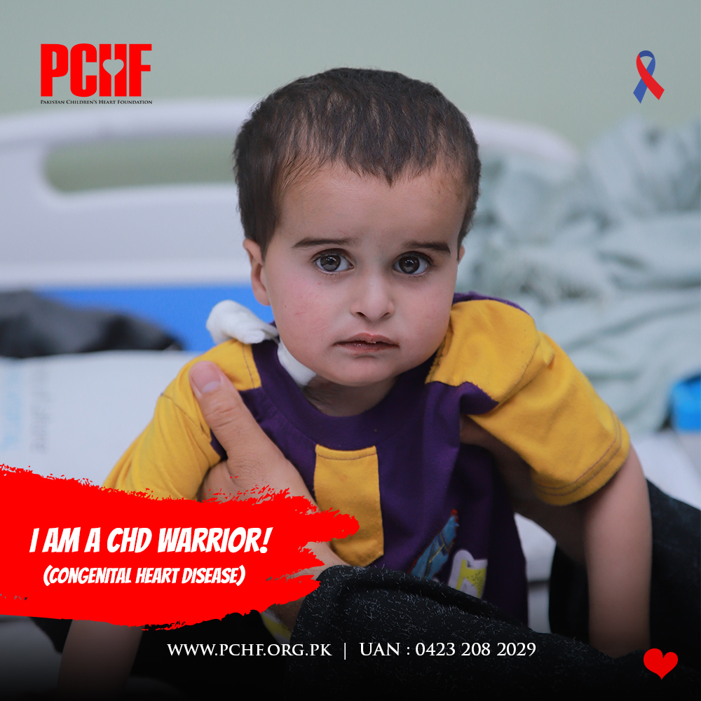 Farhan Ahmed: A 2-Year-Old CHD Warrior