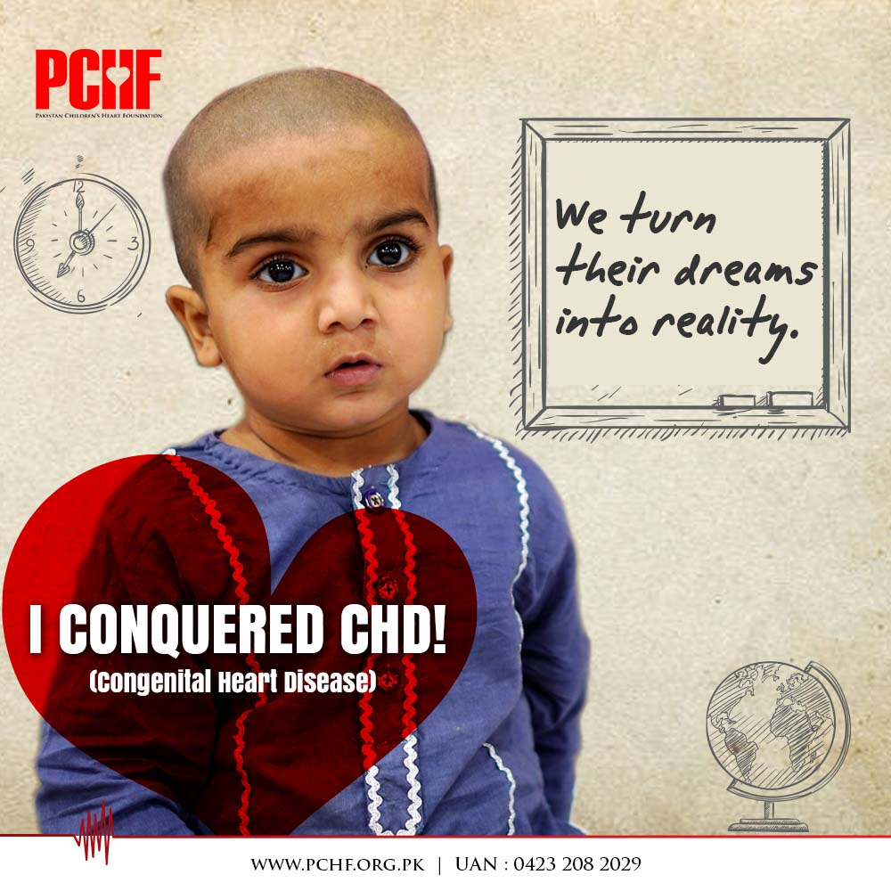 Farhan Iqbal: A 3-Year-Old CHD Warrior